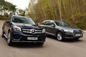 audi mercedes mercedes gls vs audi q7 auto express