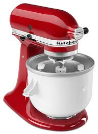amazon com kitchenaid kica0wh ice cream maker attachment