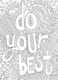printable inspirational quotes to color free printable inspirational quotes coloring pages appealing adult