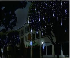 christmas lights that look like snow falling snowfall led christmas lights christmas decor inspirations