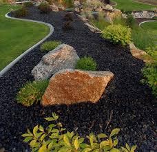 Black Garden Rocks Image Result For Black Landscape Gravel Landscape Ideas