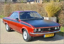 1975 opel manta opel manta a 1 900 gt e 1974 stuurman classic and special cars