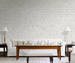 white brick effect wallpaper wall murals ireland white brick effect wall mural wall murals by www wallmurals ie