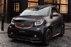 rose gold cars the motoring world smart cars launch a pair of special editions