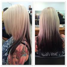 hair styles brown on botton and blond on top pictures of it 25 best hair color images on pinterest hair dos hair cut and