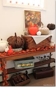 Fall Decor Diy - no sew toilet paper roll pumpkin for easy diy fall decor