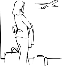 airplane coloring page printable airplane in airport coloring page transportation printable