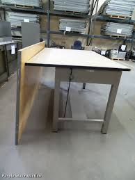 Drafting Tables For Sale by Drafting Table Item Cd9162 Sold October 19 Kansas Depar