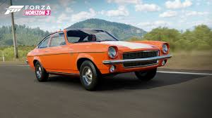 chevy vega rev your engines with the forza horizon 3 mountain dew car pack