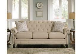 Diamond Tufted Sofa Living Room Beautiful Ashley Furniture Tufteda Picture Design