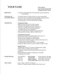 sample resume caregiver general objectives for resumes sample