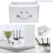 diy socket outlet board container cables storage organizer case