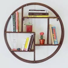 wall shelves design modern circular wall shelves design round