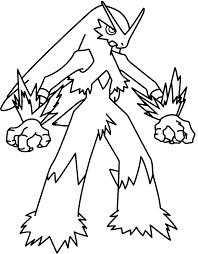 pokemon mega blaziken coloring pages cartoon photos