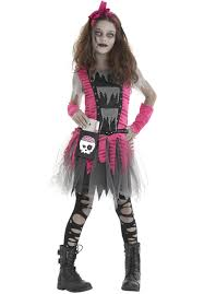 prom queen zombie evil undead childs costume escapade uk