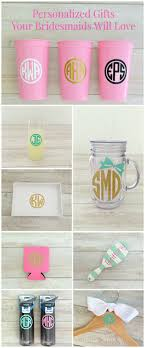 personalized bridesmaid gifts personalized gifts your bridesmaids will rustic wedding chic