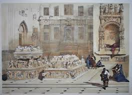 roberts spanish sketches tombs of ferdinand and isabella 1024x743