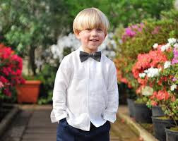 boys dress shirt toddler boy long sleeve white shirt wedding
