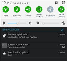 lookout android you need to install lookout for work on your android device
