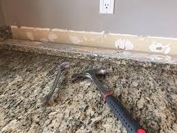 how to caulk a sink backsplash do it yourself brick veneer backsplash remington avenue