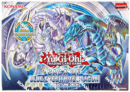 konami yu gi oh saga of the blue eyes white dragon structure deck