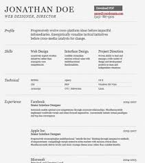 Web Design Resume Template Modern Resume Format Attractive Design Modern Resume Templates 7