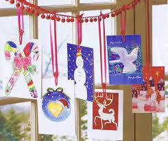 display christmas cards home