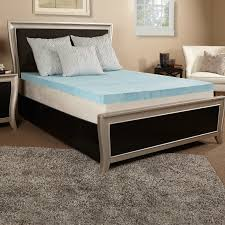 bedroom gel mattress topper with convoluted gel memory foam