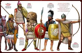 roman external relations weapons and warfare