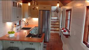 Four Lights Tiny House Gorgeous Luxury Tiny House With A Full Kitchen Youtube