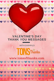 thanksgiving message to my boyfriend valentine u0027s day thank you messages examples