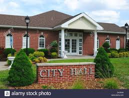 small town city hall stock photo royalty free image 57938877 alamy