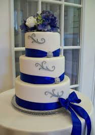 royal blue and silver wedding marvelous decoration royal blue wedding cake attractive