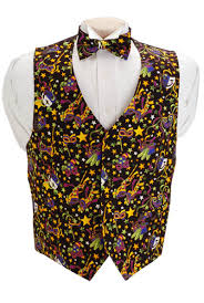 mardi gras tie david s formal wear mardi gras mask vest and bow tie set