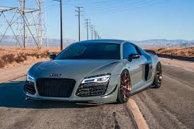 nardo grey r8 signature wheel audi r8