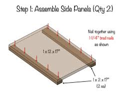 side table plans diy bedside table with drawer and shelf free plans