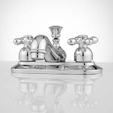 teapot centerset bathroom faucet cross handles bathroom