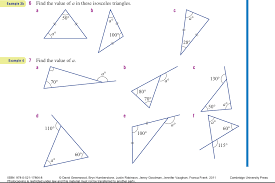 finding the missing angle of a triangle worksheet finding missing angles triangle 2 of 2 jpg