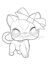 lps cat coloring pages coloring page for kids