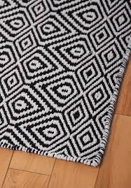 Area Rug Black And White 2018 White And Black Area Rug 50 Photos Home Improvement