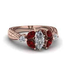 marquise diamond engagement rings shop flower engagement rings style fascinating diamonds