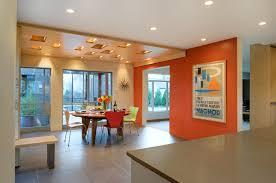 Kitchen Interior Paint Modren Orange Painted Kitchens Colors Themed Kitchenjpg Full