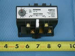 siemens solid state overload relay 1ph 2 5 10 amp range esp100