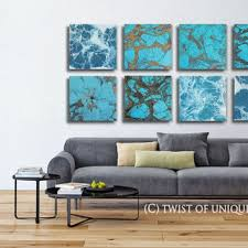 Black White Turquoise Teal Blue by Best Abstract Gold And Turquoise Paintings Products On Wanelo
