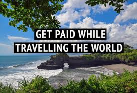 get paid to travel images Learn how i travel without a job with passive income jpg