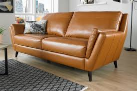 Leather Settees Uk Leather Sofas Corners And Chairs Sofology