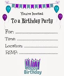 birthday invitation template free printable birthday invitations for kids freeprintables