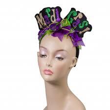 mardi gras headband headbands boppers mardigrasoutlet
