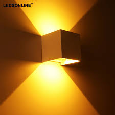 online get cheap decorative wall lighting aliexpress com new 120degree waterproof cube cob led light wall lamp modern home lighting decoration outdoor wall lamp