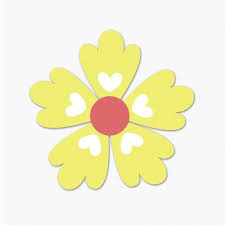 daisy wall decals wall stickers flowers sticker genius yellow hearts flower graphics wall stickers room decor